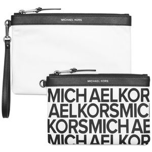 NWT! Michael Kors Duo Pouch Clutch Wristlets